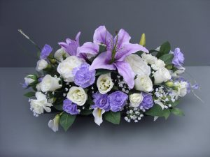 Lilac & Cream Tribute - £65.00