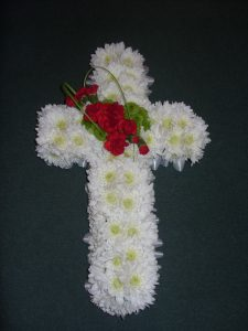 Cross Tribute - White & Red - £77.00