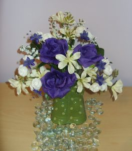 Mauve & Cream Arrangement