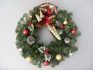 Traditional Christmas Wreath - £20.00
