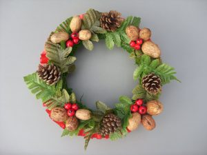 Woodland Christmas Wreath - £10.50