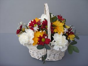 Mother's Day Fresh Flower Basket - £38.50