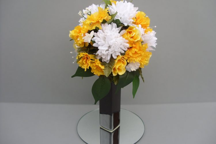 Yellow and White Bouquet - £52.50