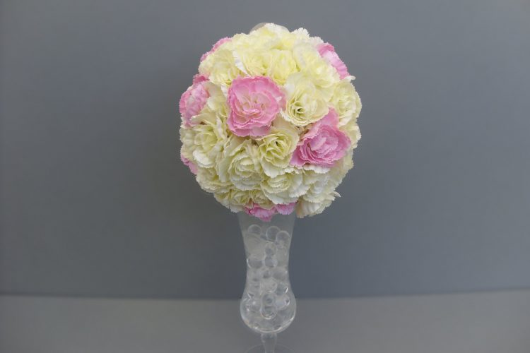 Cream & Pink Bridesmaid Pomander - £46.50