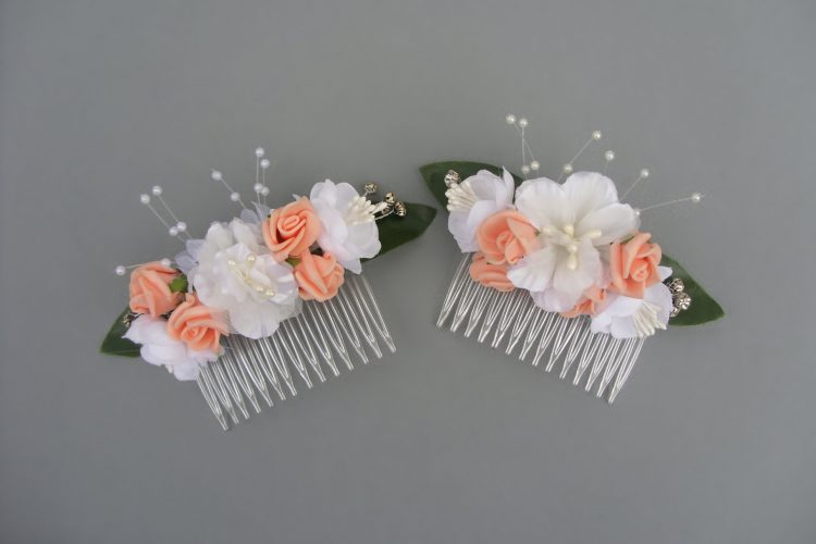 Bridal Hair Combs with Diamante - £10.00 each