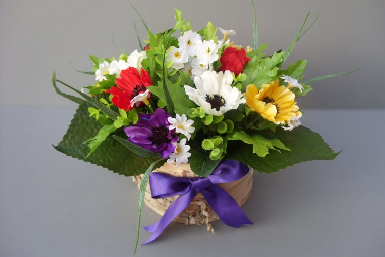 Anemone Table Arrangement - £17.50