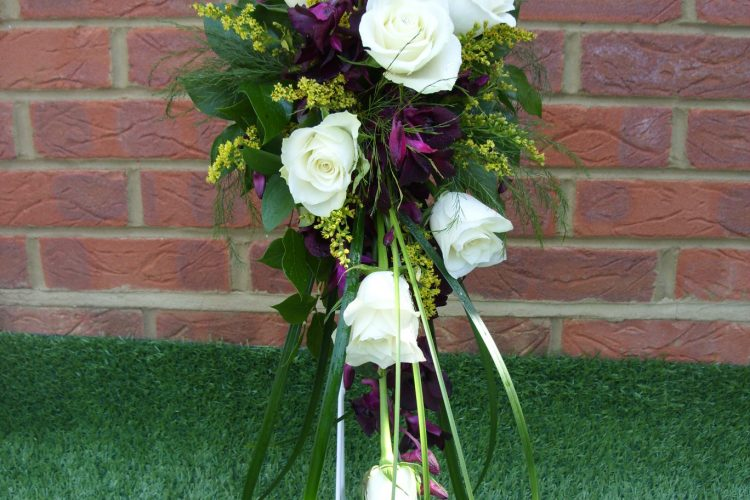 Rose & Orchid Bridal Bouquet